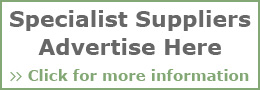 Specialist Suppliers Advertise Here